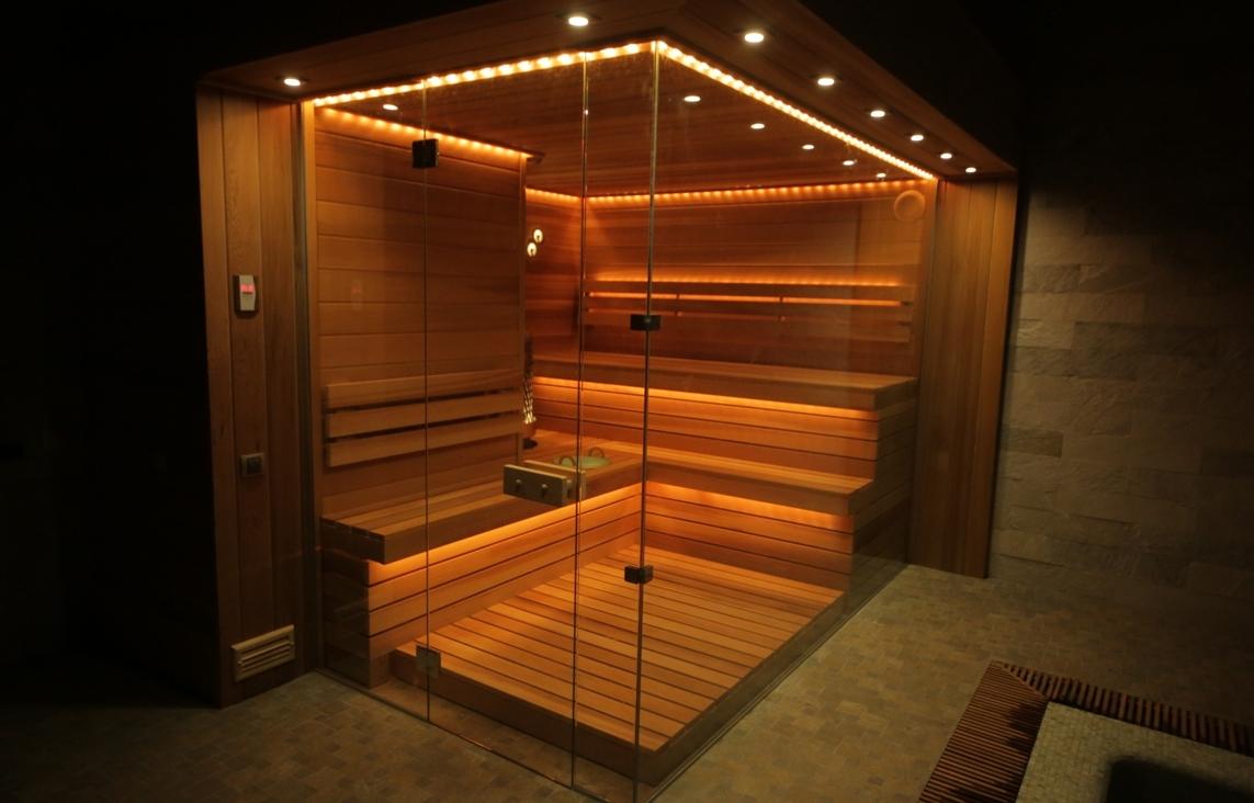 Стеклянная баня
